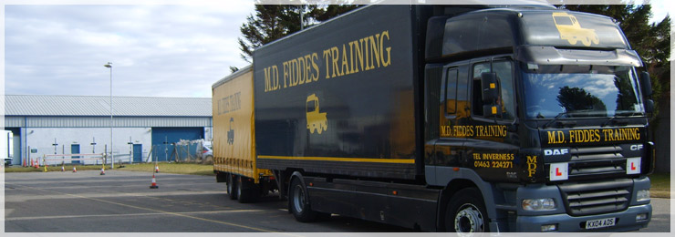 LGV Training, PCV Training & Forklift Training Provider in Inverness and the North of Scotland